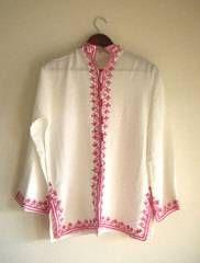 モロッコ刺繍シャツ 民族衣装 モロッコ雑貨レガロ