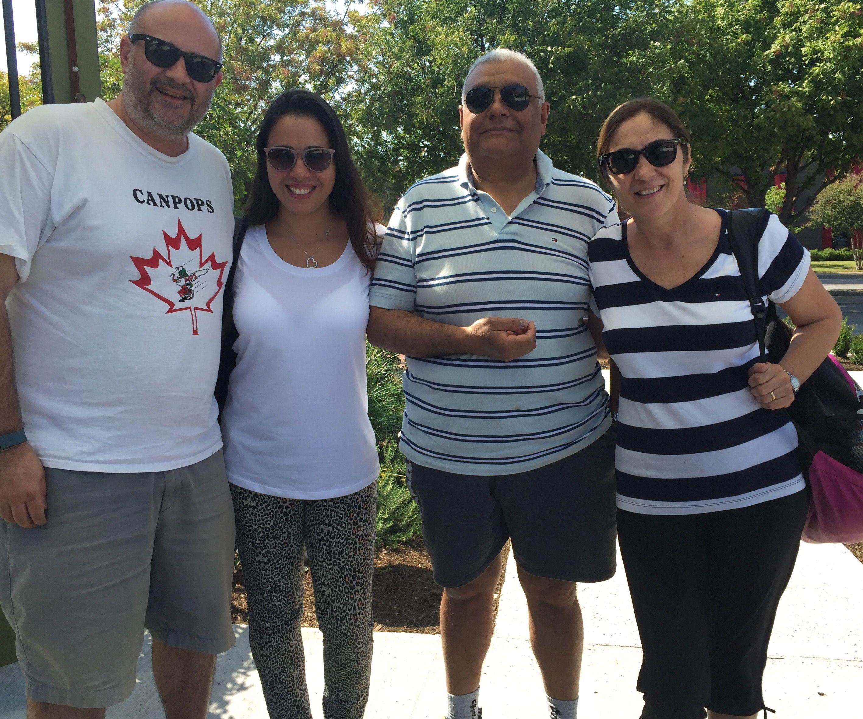 Juan, Carolina, Enrique, Alicia from SAN Juan, Argentina 10-3-16