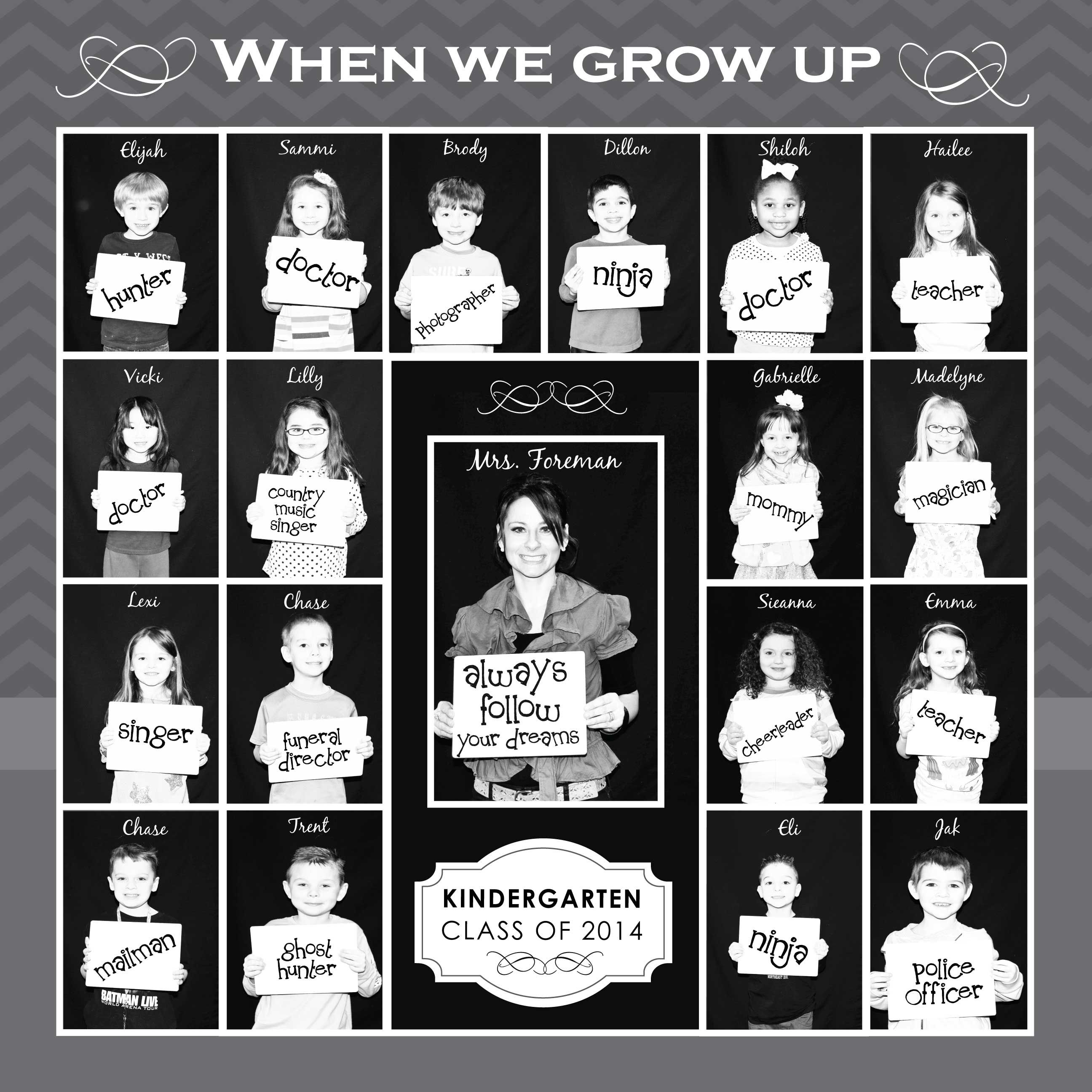 When I Grow Up Photo Collage | Graphic Design | Pinterest ...