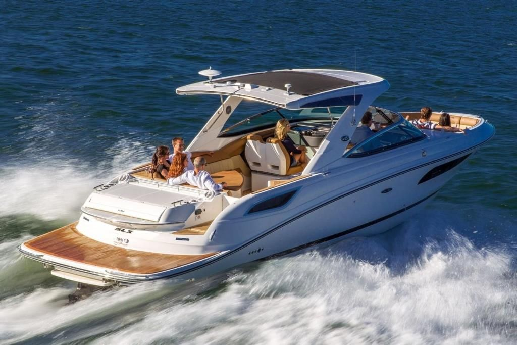 2021 Sea Ray SLX 350 Contact Your Local MarineMax Store About Availability | Sea ray boat, Power boats, Small yachts