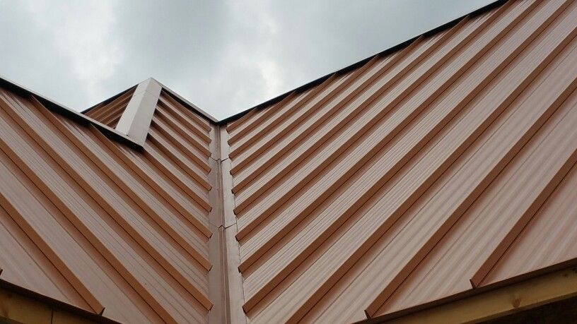 Copper Metal Roof By Ohio Metal Roofing 740 751 8131 Www Metalroofohio Com Copper Metal Roof Metal Roof Roofing