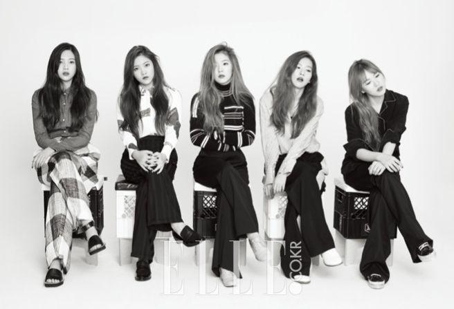 레드벨벳, 덤덤한 소녀들 | 엘르코리아(ELLE KOREA)