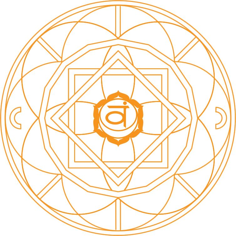 chakra mandala coloring pages - mandala naranja zen coloring pinterest runes
