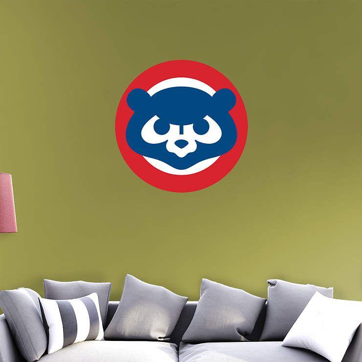 Chicago Cubs Classic Logo Fathead Wall Decal   Cruz bedroom ideas ...