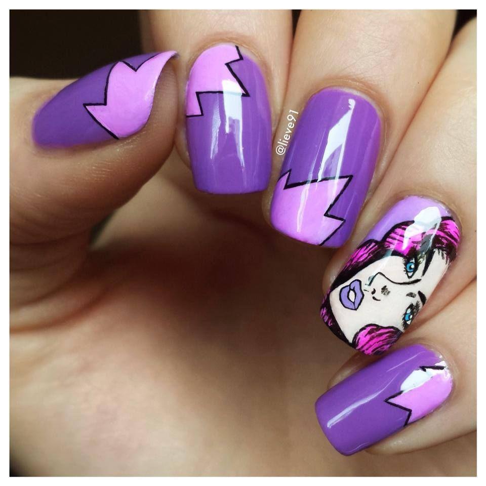 ✝☮✿☆ NAILS ✝☯☆☮ | Nails | Pinterest | Pop art nails, Art ...