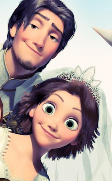 Tangled My First Disney Princess Green Eyes And Short Dark Hair Disney Princess Films Disney Princess Movies Disney Tangled