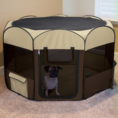 Ware Manufacturing Deluxe Pop-Up Dog Playpen Large & Ware Manufacturing Deluxe Pop-Up Dog Playpen Large | Dog Playpen ...