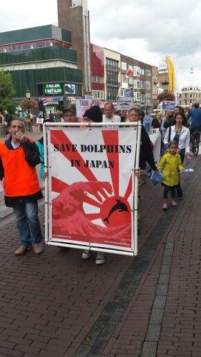 Demonstratie utrecht  30 8 2014 .