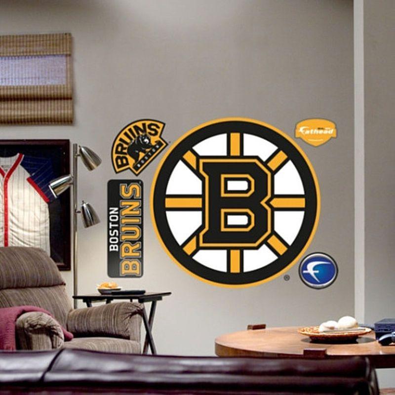 Fathead Boston Bruins Team Logo Wall Graphic Wall decals