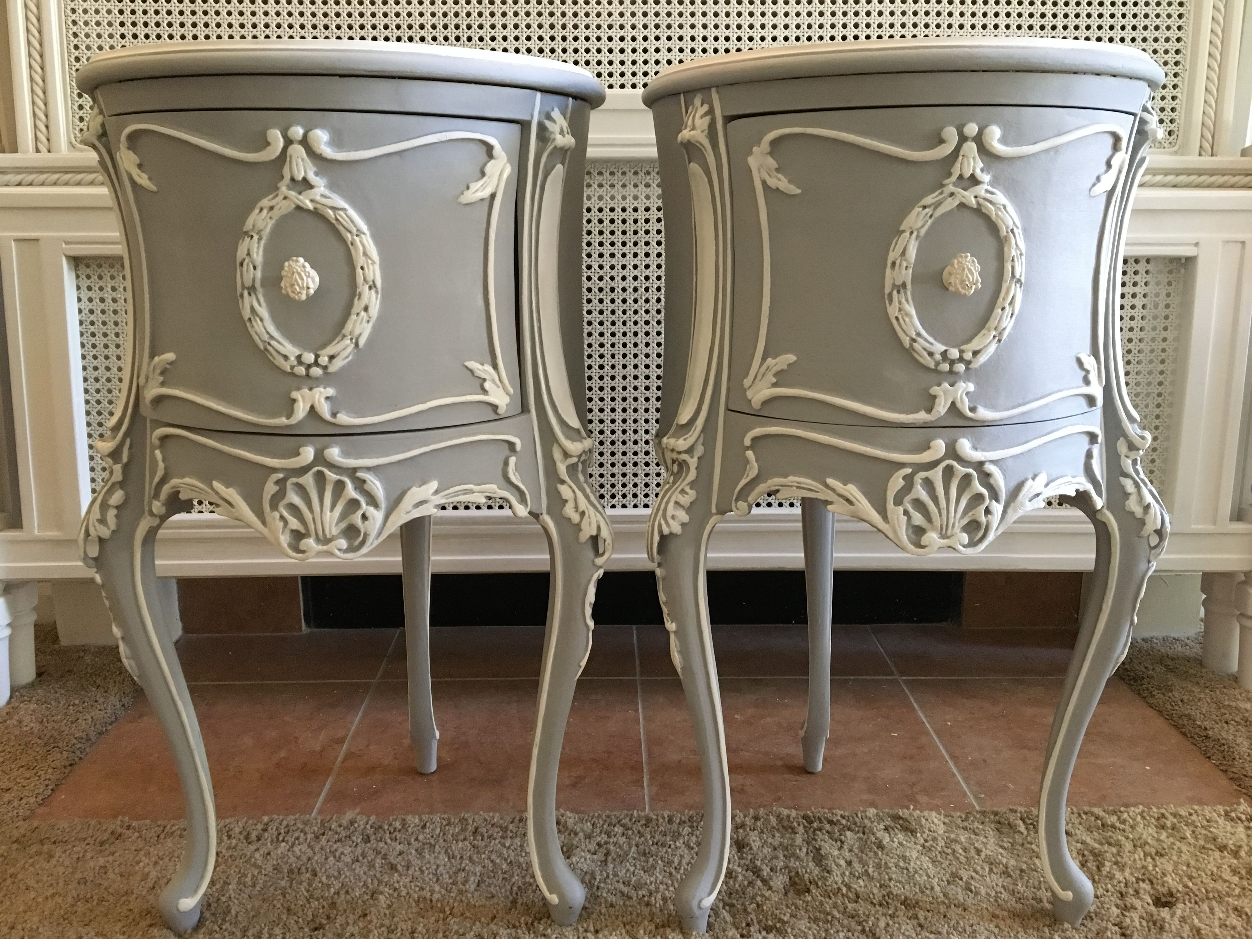 Beautiful French Nightstands