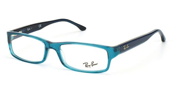 b384820aef Buy your favorite Ray-Ban RX5114 Highstreet Transparent Blue eyeglasses  online on SmartBuyGlasses USA at great prices.