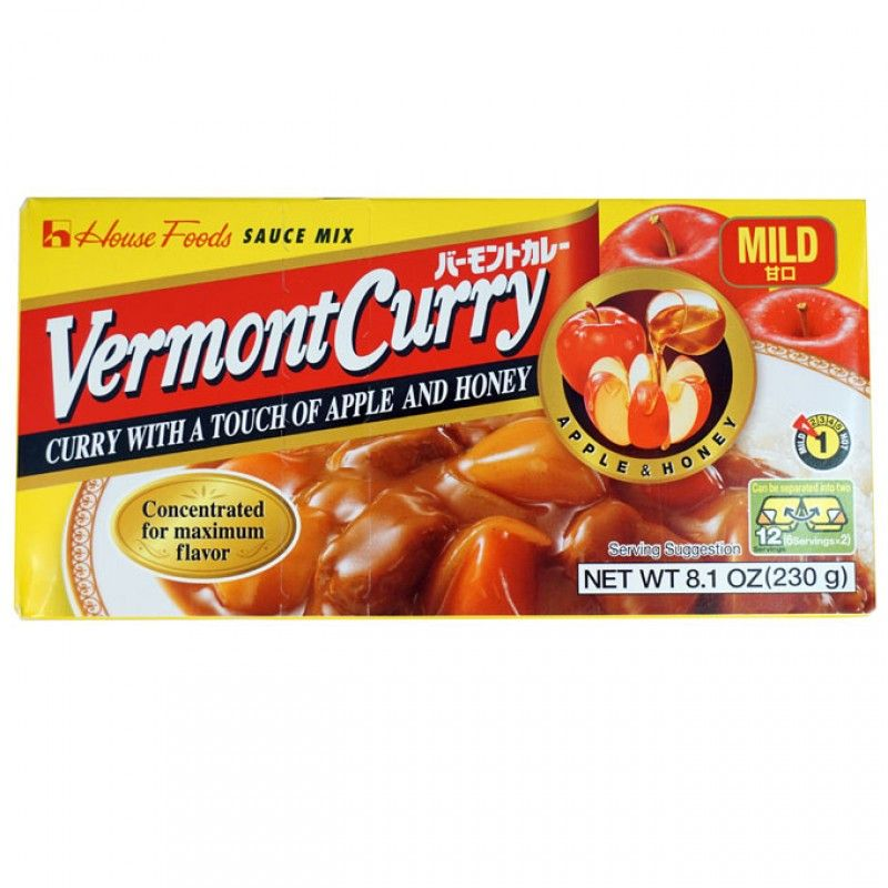 Vermont Curry Mild 8 8 Oz Curry Food Gourmet Recipes