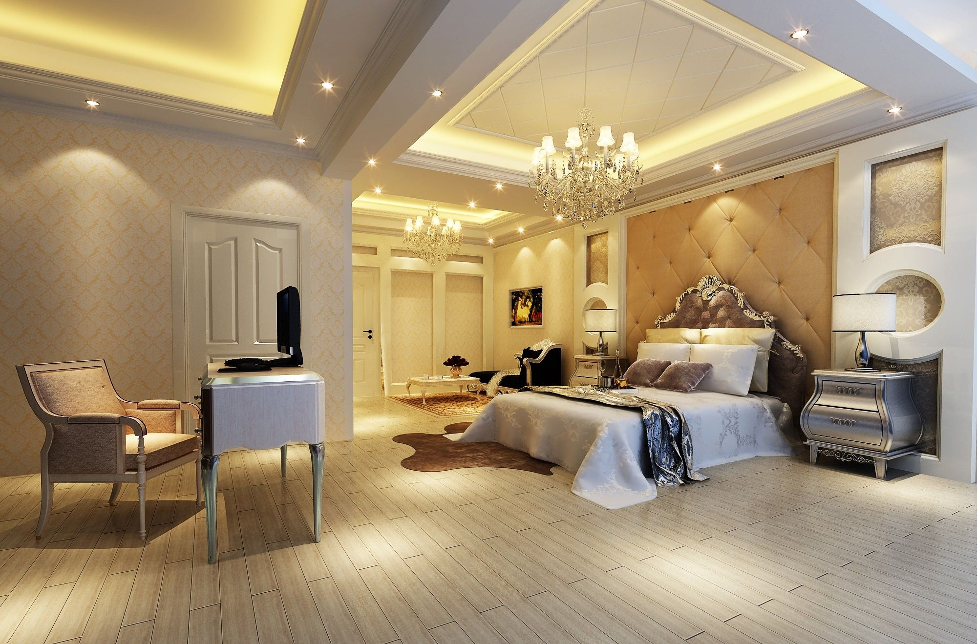 Large master bedroom #Homeowner | Dream home ideas | Pinterest ...
