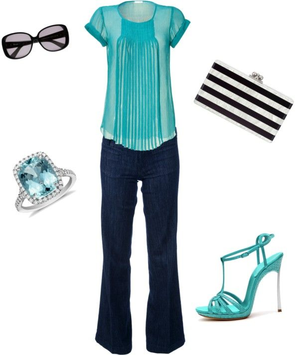 """""""turquoise"""" by jymckay on Polyvore"""