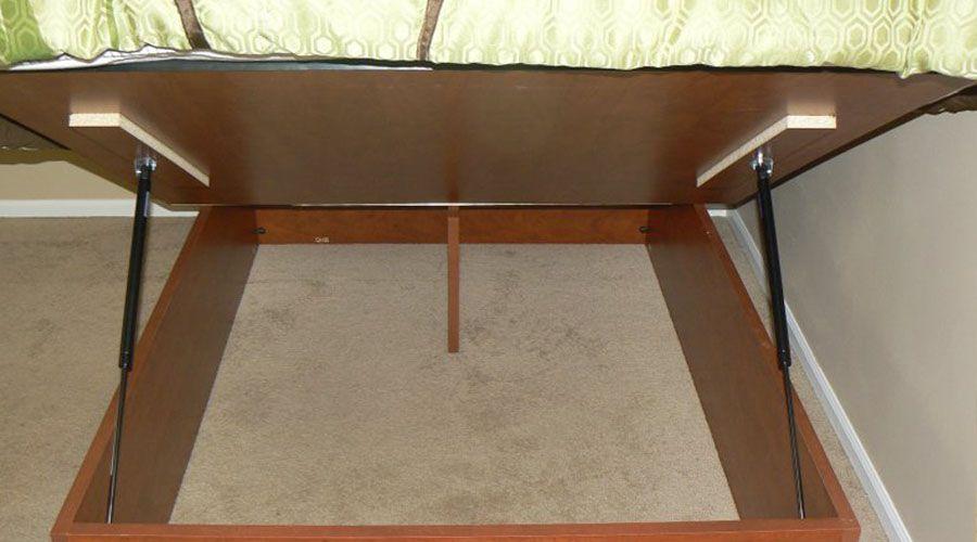 Storage Bed Hydraulic Shocks Diy Storage Bed Bed