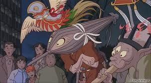 Pom Poko Monster Parade Pom Poko Ghibli Movies Studio Ghibli