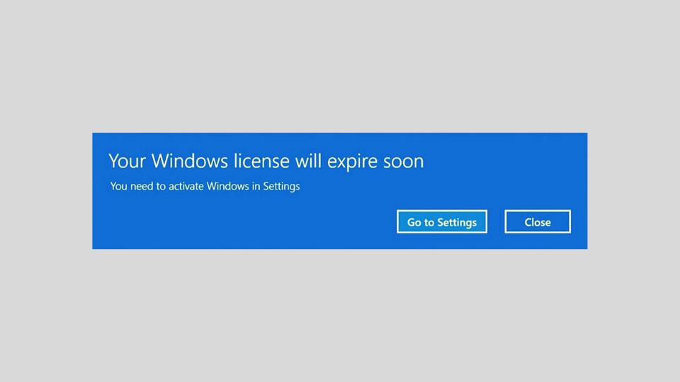 Cara Mengatasi Windows Expired