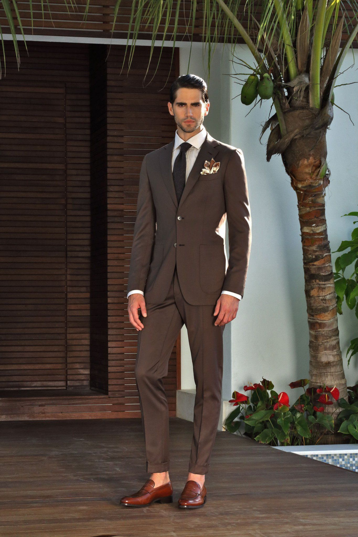 422b2a9ffa1b Chocolate Brown Suit | Mens fashion in 2019 | Brown suits, Fashion ...