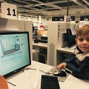 Even een keuken uitzoeken bij Ikea met de kleine baas #keuken #groteverbouwing #2015 #ikea #diy #oudennieuw