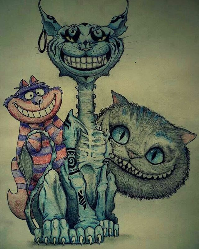 Alice In Wonderland, Alice Madness Returns: Cheshire cats