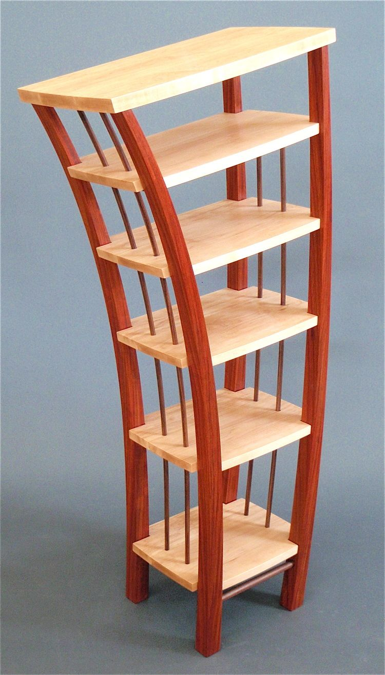 bookcases products silo bookcase temporarily curved modern elm west workspace unavailable