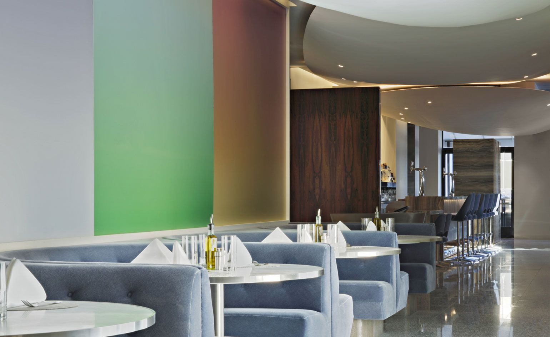 Freds At Barneys New York Los Angeles Usa Interior Design Bar Interior Design Restaurant Interior Design