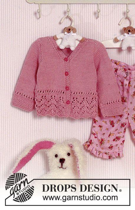 Jacke mit Lochmuster in | Kinderkleider | Pinterest | Chaquetas ...