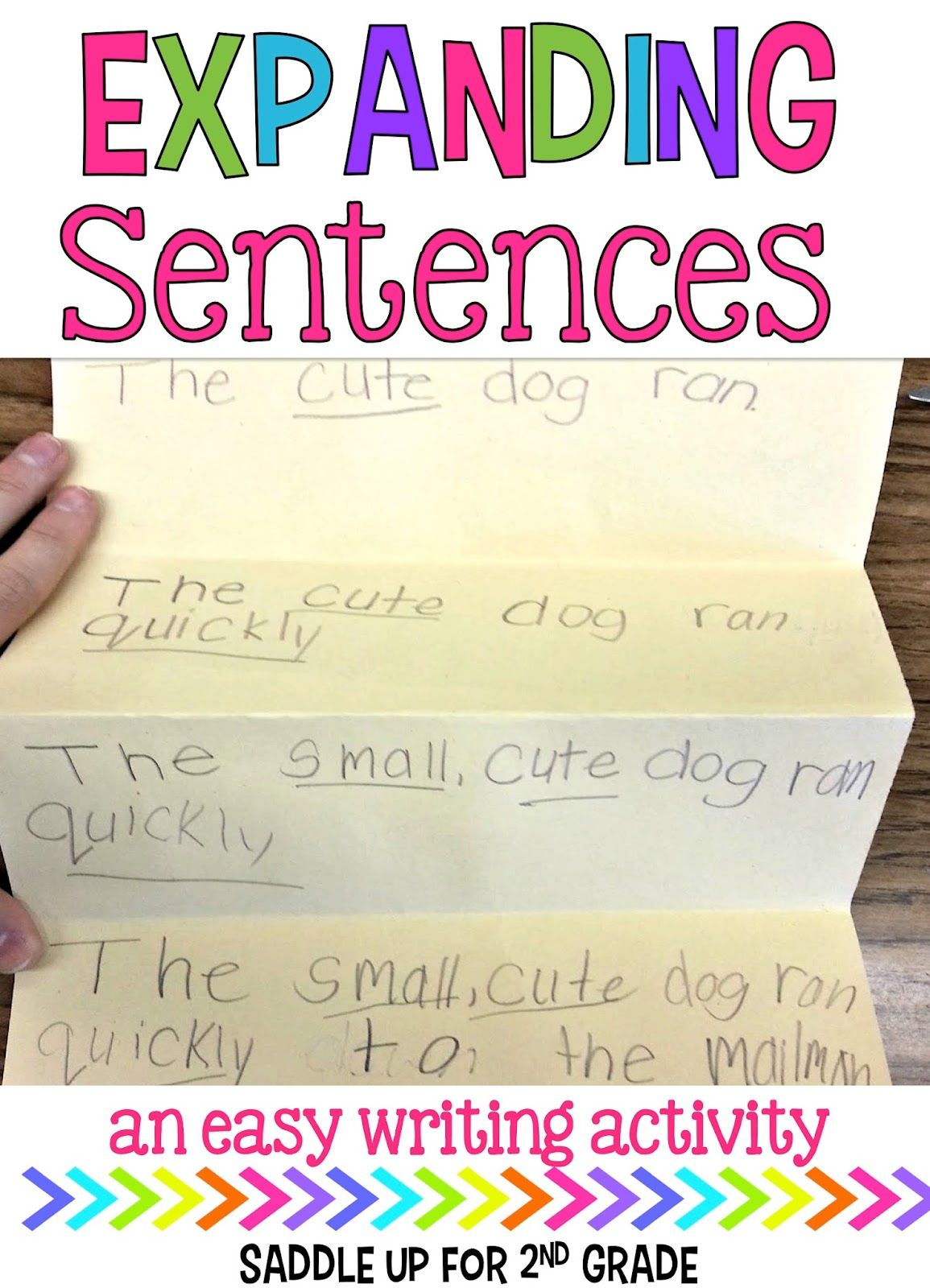 2nd grade paragraph examples