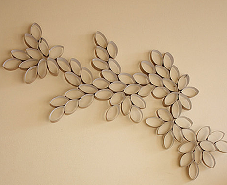 Do It Yourself: Toilet Paper Roll Wall Art   Living Rich With Coupons