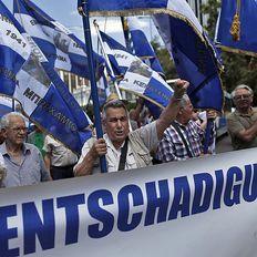 Im Fokus der griechischen Regierung steht jüngst vor allem die Rückzahlung einer Zwangsanleihe aus der Nazi-Zeit
