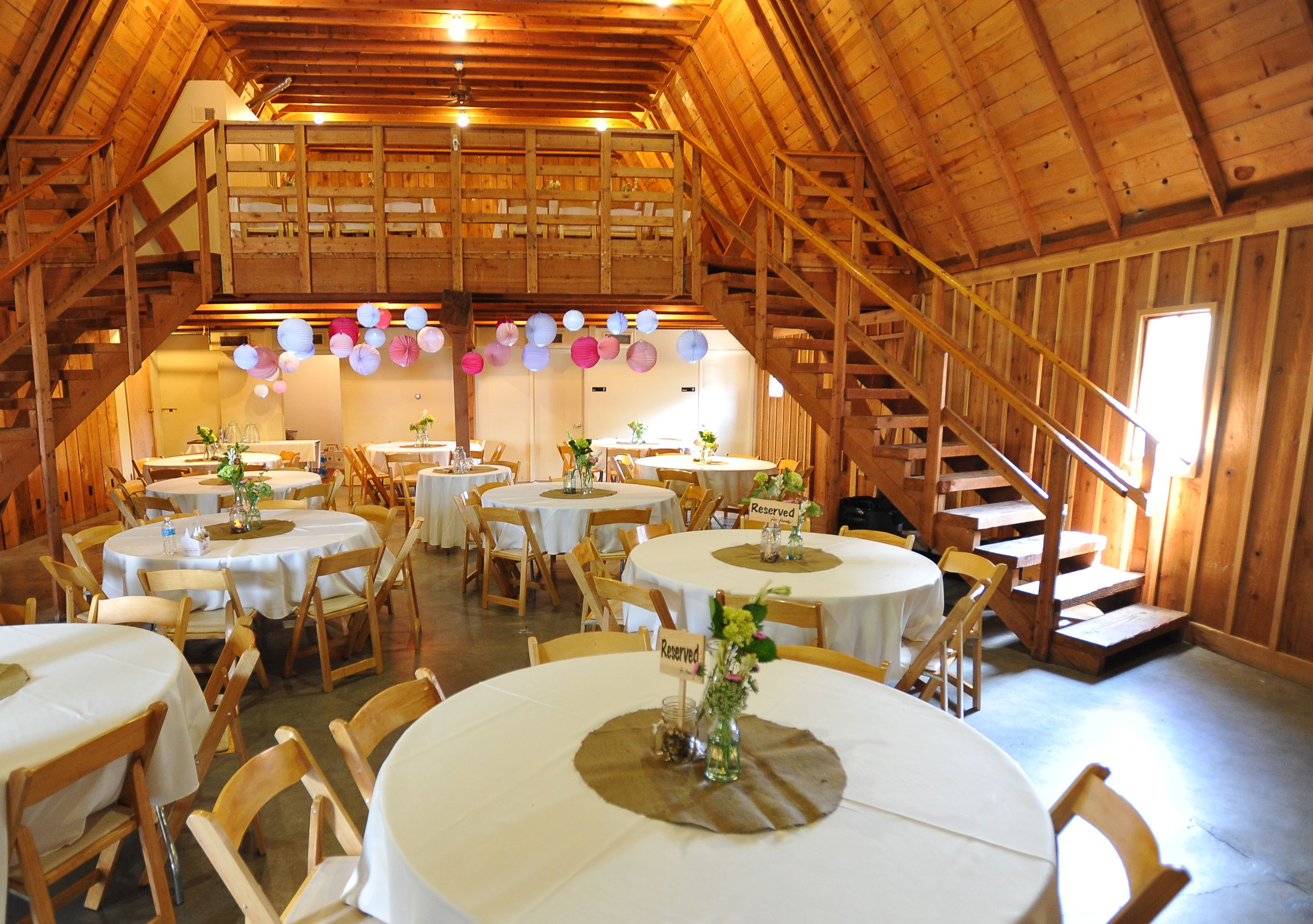 Tisch Majors The Main Area Of The Barn Is Light And Airy Weddings