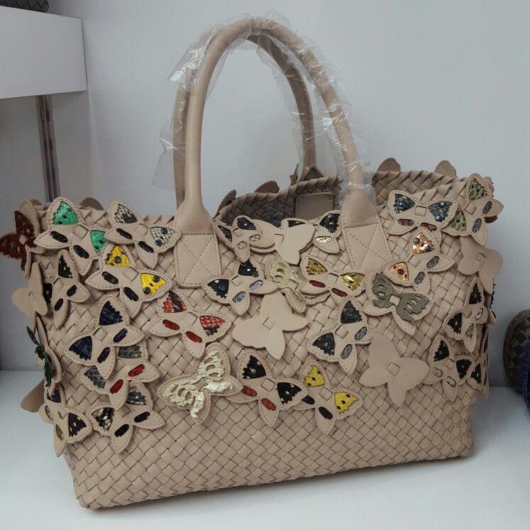 c4df08d8aaa4 Bottega Veneta Butterfly Special Edition Cabat Bag