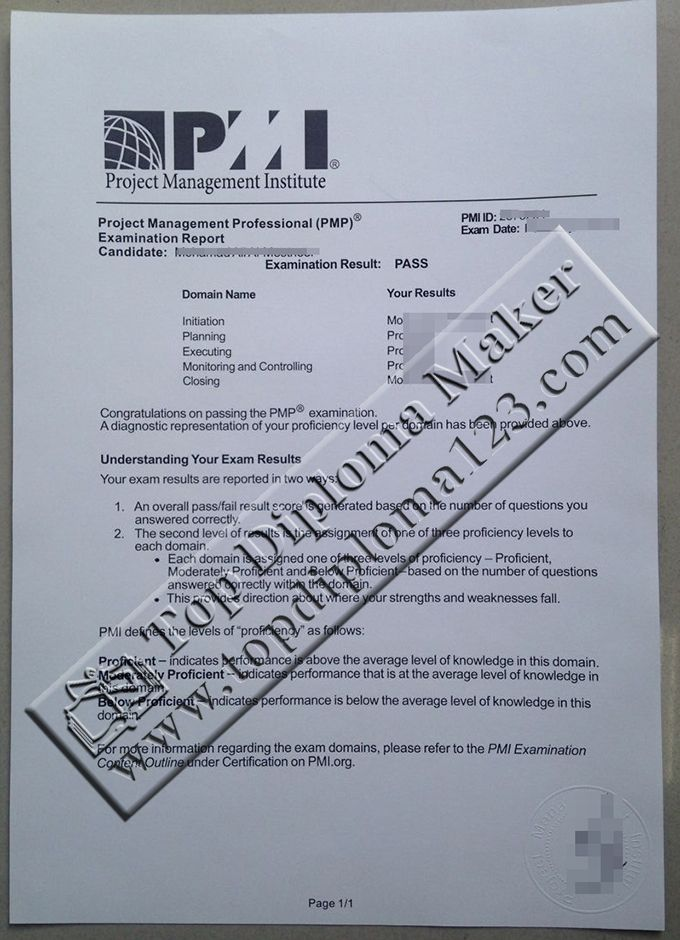 PMP examination result, PMP transcript Buy certificate, buy - copy chinese marriage certificate translation template