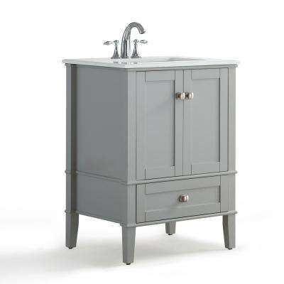 Chelsea in     bath vanity grey with quartz marble top white basin also rh pinterest