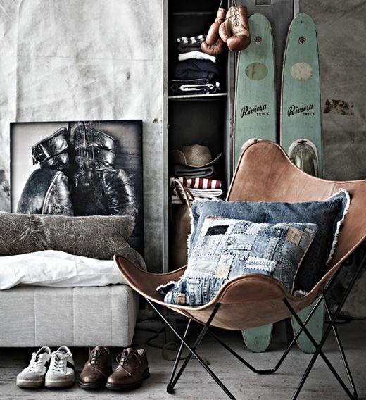 Méchant Design: Denim Cushion♥