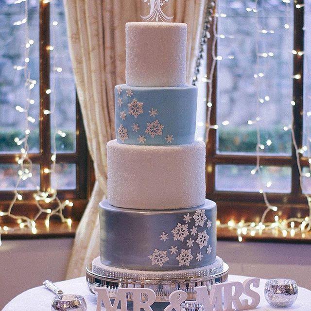 Winter Wedding Cake- Baked Blessings NI