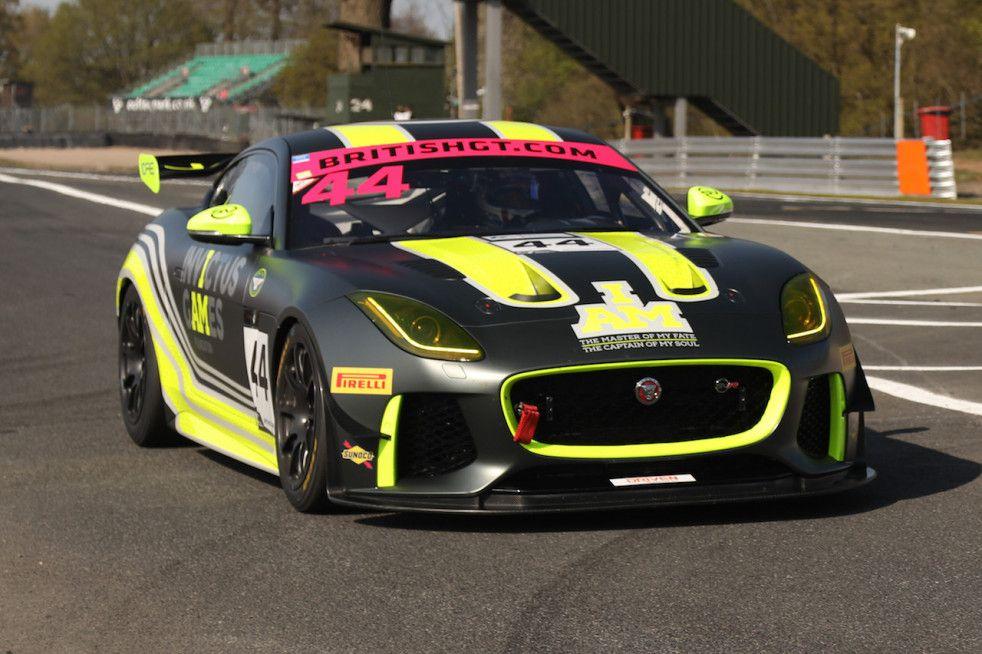 Jaguar F-Type SVR GT4 (British GT) | Jaguar, Rennwagen, Rennen