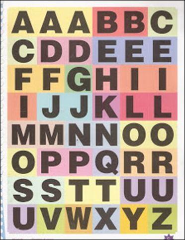 Alfabeto Movel Bingo De Palavras Atividades Com O Alfabeto