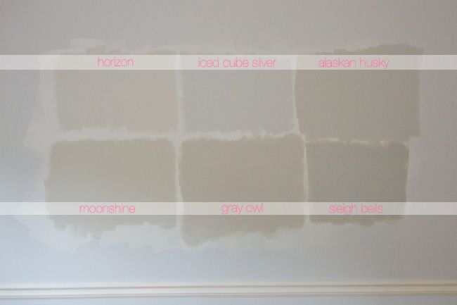 Glitter and Goat Cheese - Benjamin Moore Light Gray Paints ...