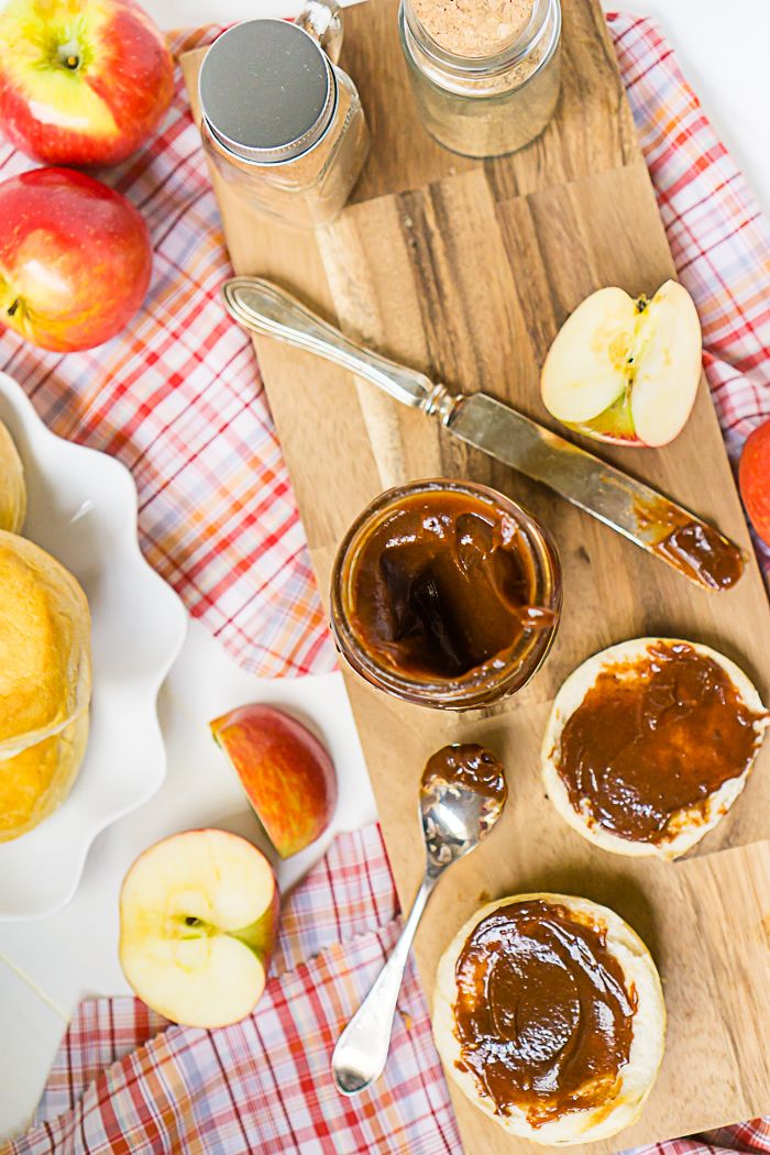 Homemade Apple Butter in Slow Cooker Recipe Food