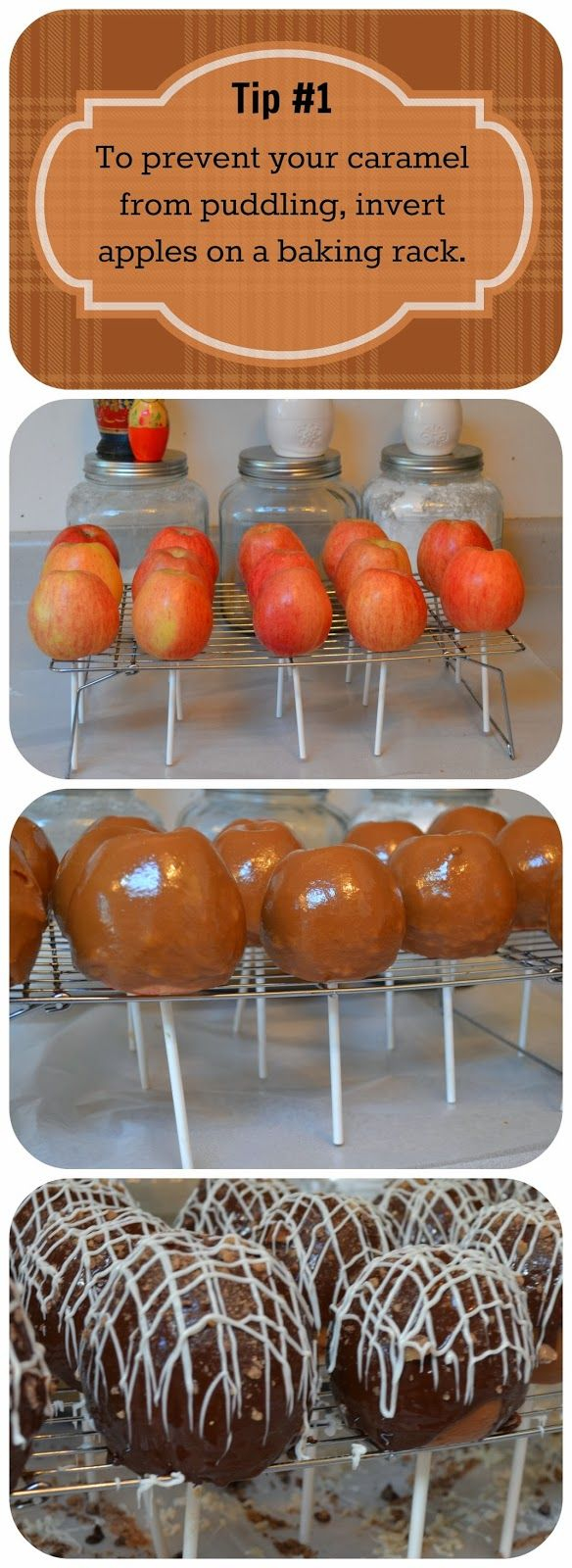 Tips & Tricks for the Perfect Caramel Apple How to