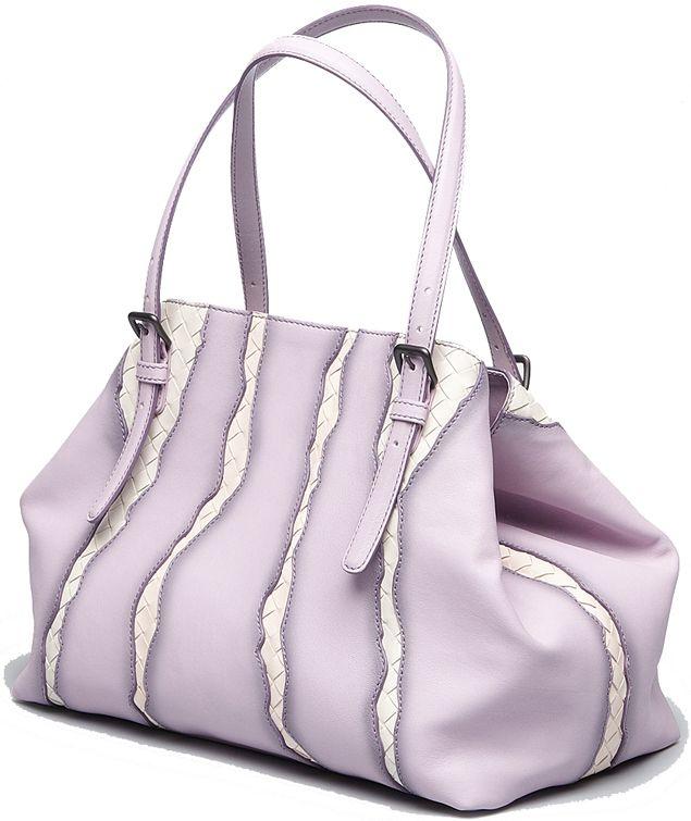 35f82173d Bottega Veneta Monalisa Nappa Intrecciato Glimmer Tote Bag ...