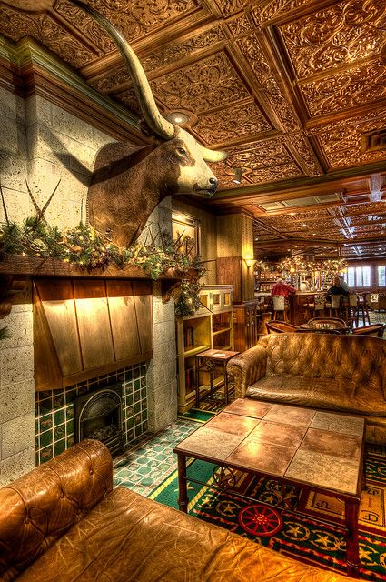 Driskill Hotel Bar Hotel Bar Hotel Western Decor