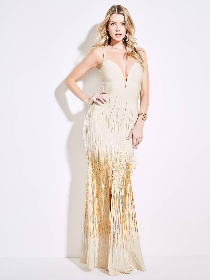 Jennifer Longue Fendue Marciano Robe GuessBoutique Lopez 6fy7bg