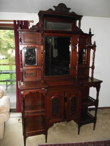 Image Result For Antique Wooden Etagere With Images Victorian