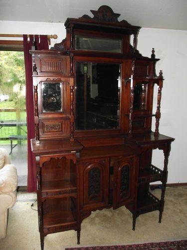 Image Result For Antique Wooden Etagere