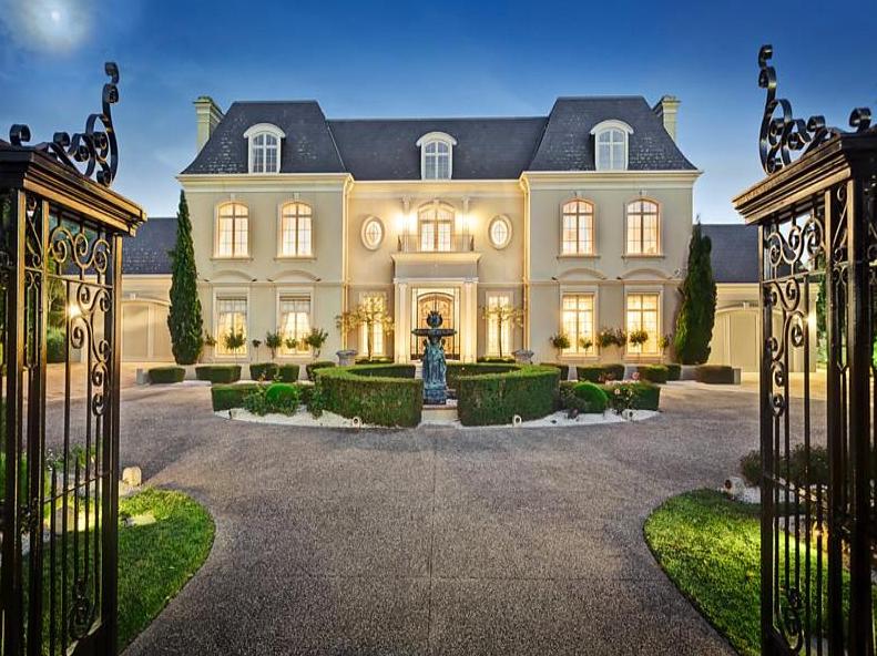 French Chateau Style Home | French Chateau Style Gated ...