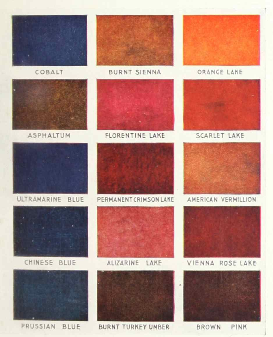 Red Paint Colors Stencil Paint Colors From A 1910 Sherwin Williams Stencil Catalog
