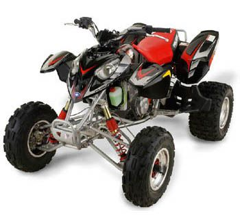 Polaris Predator 500 Four Wheeling Dirt Bikes Bike