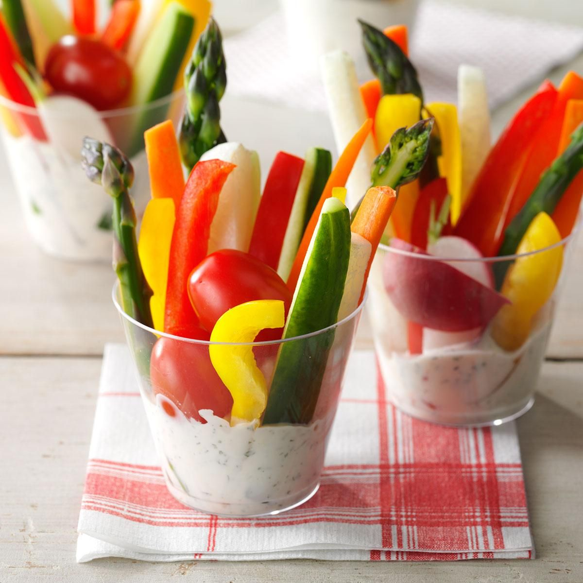 Dill Vegetable Dip. Easy Appetizers ...